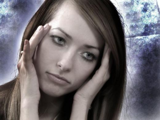 стресс у девушки