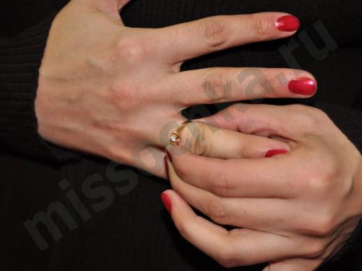 снять кольцо с пальца