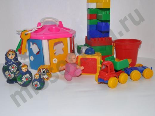 игрушки для годовалых малышей