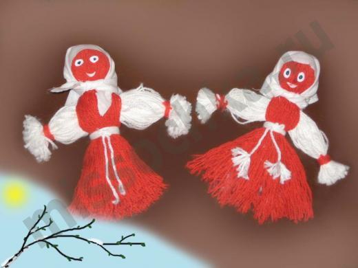 мягкие куклы из ниток своими руками