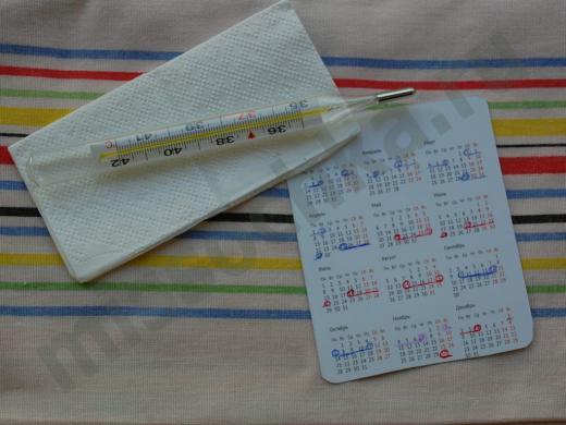 календарь и градусник