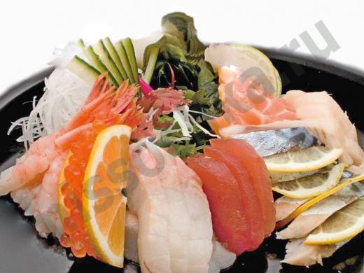 как подать морепродукты